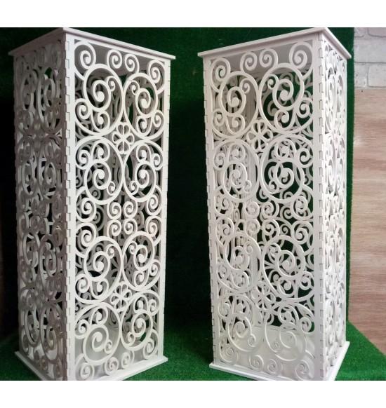 Декоративная витая колонна