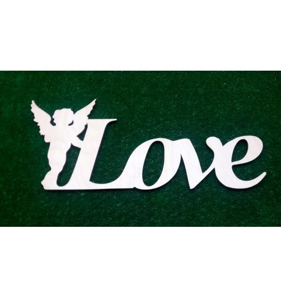 """Слово для фотосессии """"Love"""" с ангелом"""