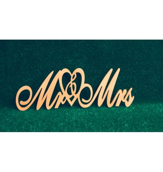 """Слово для фотосессии """"MR&MRS"""""""