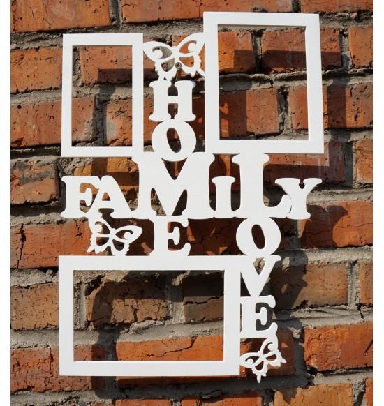 """Фоторамка """"Family Home Love"""""""