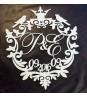 Свадебный герб с короной