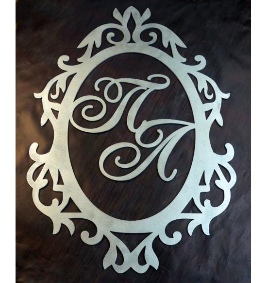 Семейный герб с монограммой