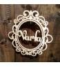 Свадебный стильный герб
