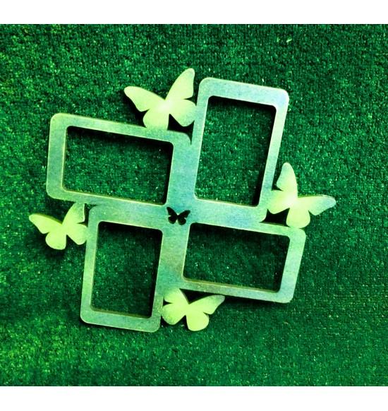 Фоторамка с бабочками