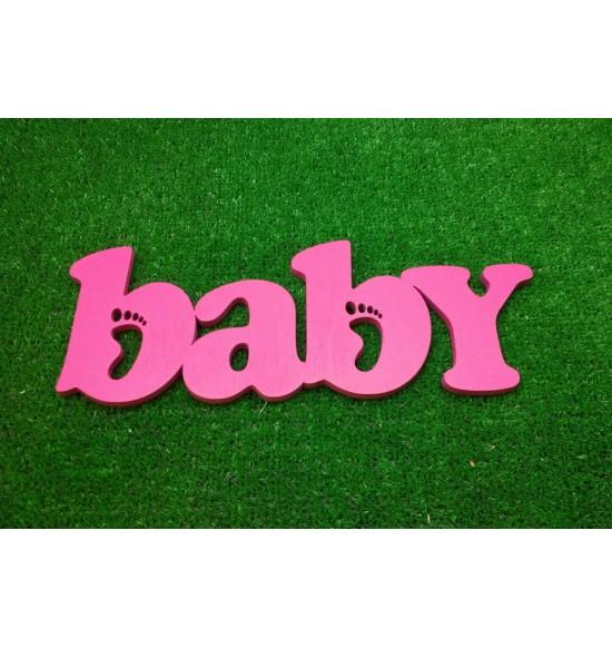 """Декоративное слово """"Baby"""" для детской"""