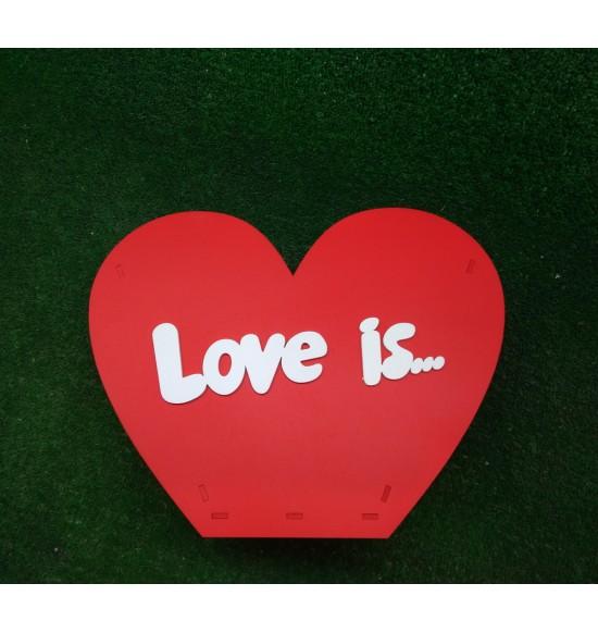 """Корзина для цветов """"Love is"""""""