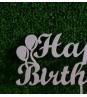 "Топпер ""Happy Birthday"" с шариками"